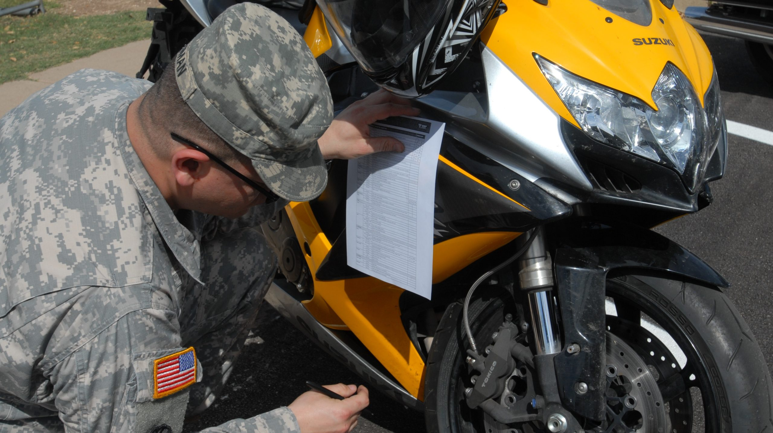 Motorcycle maintenance is key!